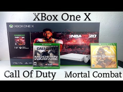 xbox-one-x-special-edition--call-of-duty-modern-warfare,-mortal-combat-11-&-nba-2k20!