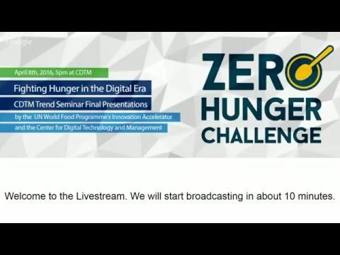 Fighting Hunger in the Digital Era (CDTM Trend Seminar Final Presentations)