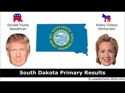 South Dakota Primary Result 2016 : US Election 2016