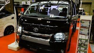 WINGS Premium TOYOTA HIACE 200 Luxury interior NAGOYA AUTO TREND 20...