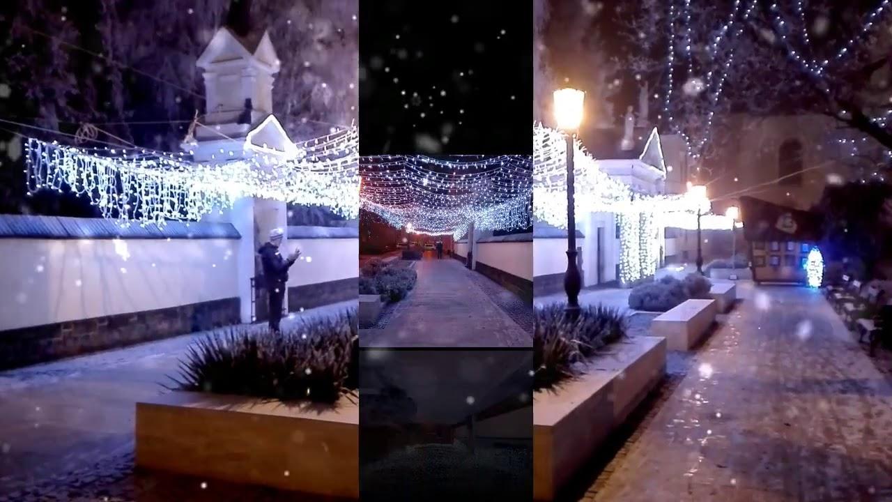 **Jászberény in winter 2016** (NOT A DRONE VIDEO)