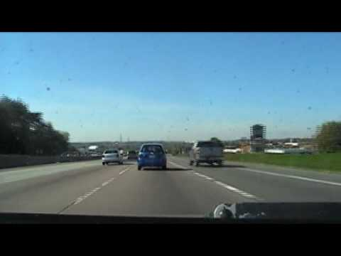 Driving from Mississauga to Pinehurst Lake via Highway 401