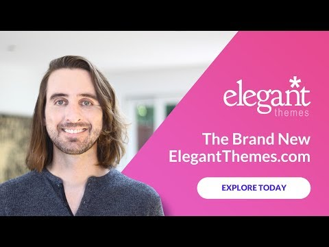 The Brand New ElegantThemes com!