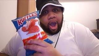 Flamin' Hot Ruffles Chips | REVIEW