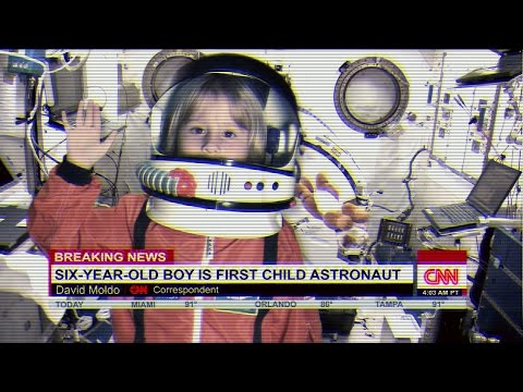 NASA Mars Mission: NASA sends little 6-year-old Astronaut kid into Space!​​​  | Beau's Toy Farm​​​