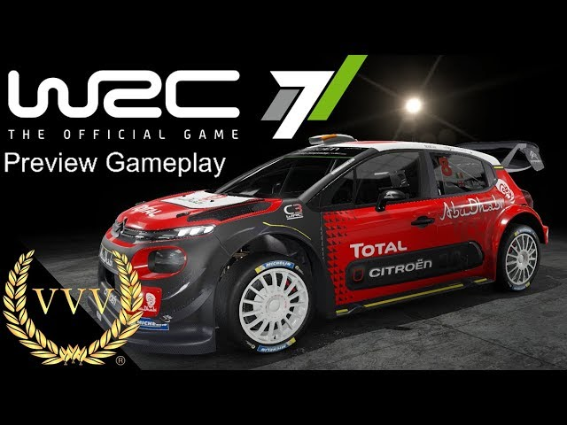 WRC 7 Preview