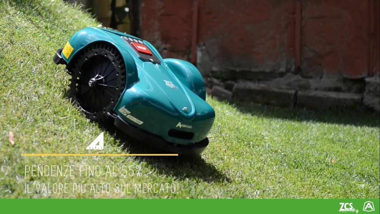 Ambrogio robot l evolution perfetto per giardini con forti