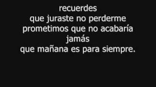 Alejandro Fernandez Mañana es para siempre