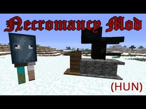 Minecraft - Necromancy Mod! - Támassz fel lényeket!