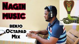 Nagin music | Benjo Octapad Mix | Himanshu kapse |
