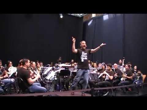 Bandamanía. Banda de Música de Gijón. Tiburón
