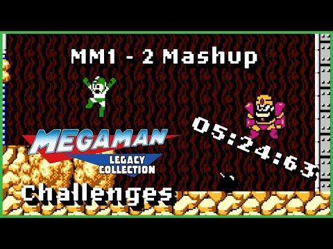 MM1-2 Mashup | Mega Man Legacy collection Challenges |