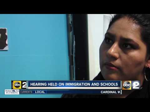 Baltimore deportations the focus of fear for students