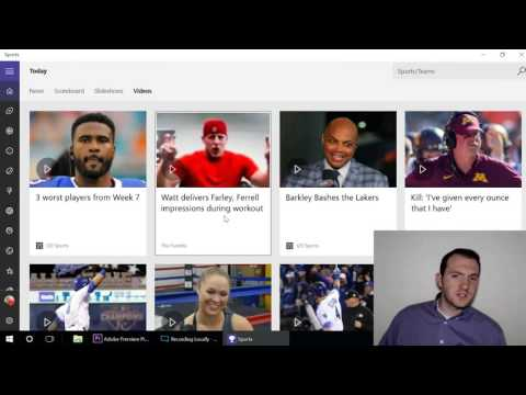 Windows 10 In Depth: News and Sports