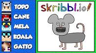 PORTO I MIEI AMICI A DISEGNARE SU SKRIBBL.IO!!!