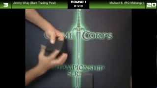 TCG Platinum Erie, PA Round 2 09/07/2013 Michael Spriestersbach Vs. Jimmy Wray at GameCorps