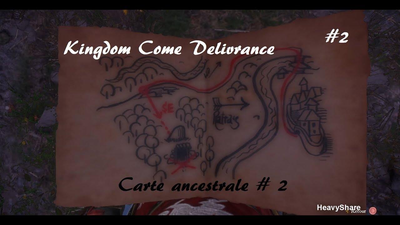 Carte Au Tresor Kingdom Come.Kingdom Come Deliverance Carte Ancestrale Ii Dlc