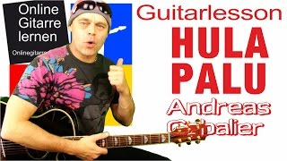 Hulapalu Andreas Gabalier Easy to play guitarlesson