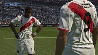 Tutorial uniforme de Peru eliminatorias Rusia2018 para PES2016 PS4 Next-Gen PESnosUNE
