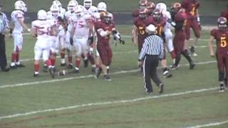Johnny Hicks constantine football highlights 2010-2011
