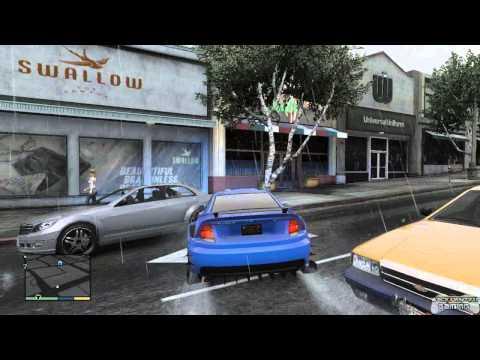 GTA 5 - Customizing Michaels New Car Plus A Random Event