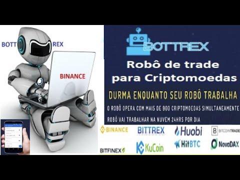 [ Robô Bottrex ] Trading para Bitcoin e Criptomoedas | Estratégias, Operações e Trailing Stop | PC