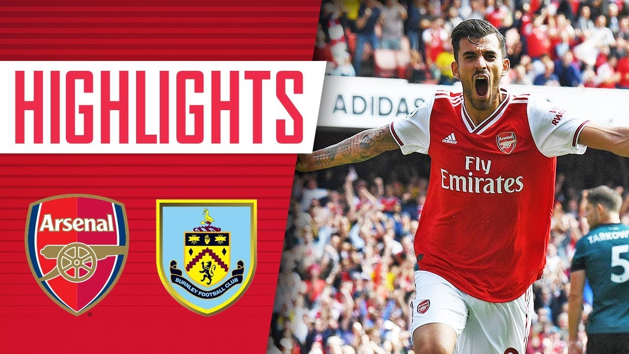 Ceballos with an incredible debut!   Arsenal 2 - 1 Burnley   Highlights