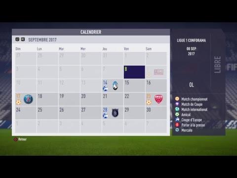 [live fr] fifa 18 carriÈre lyon | mercato + dÉbuts en ligue 1 ! #1