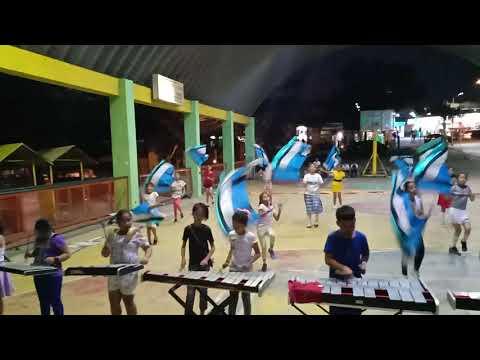 Drum and lyre practice Golden Acres Elementary School