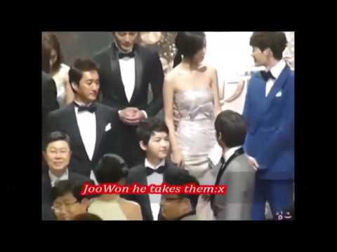 ♥Heartbeat Couple♥ Lee Jong Suk & Jin Se Yeon @ 2012 KBS Drama Awards