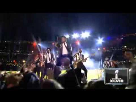 Bruno Mars 2014 Super Bowl Show ''BEST PERFORMANCE''
