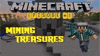 Minecraft: Mining Treasures #8 - Ещё один остров и куча пиратов!