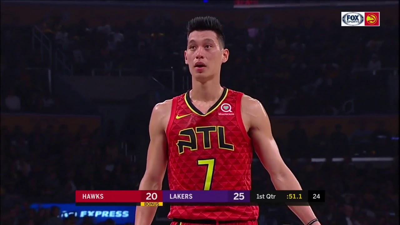 3ffb9bc5147 Jeremy Lin - Haws vs Lakers - 11 11 2018 - YouTube