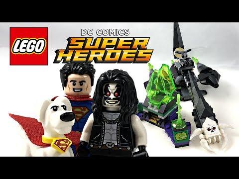 LEGO Justice League Superman & Krypto Team-Up review! 2018 set 76096!
