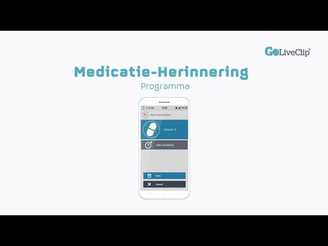 Medicatie-Herinnering Programma