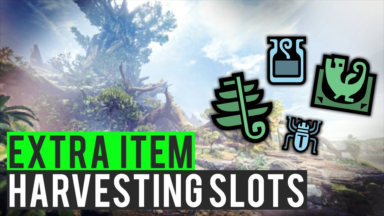 Monster World Garten How To Unlock More Harvest Slots Monster Hunter World Mhw