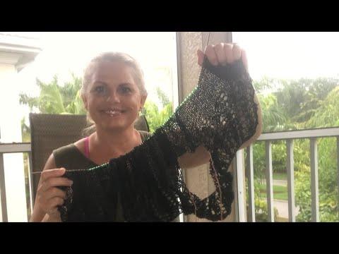 Yarn on the beach 134 live video podcast with Kristin Omdahl