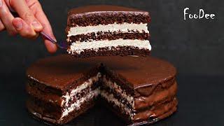 Шоколадный торт Стаканчиковый БЕЗ весов Вкуснейший и сочный домашний торт