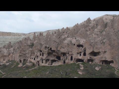 Zelve Open Air Museum, Monks Valley Cappadocia