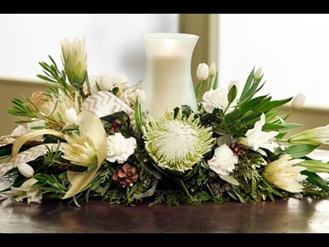 Items similar to Large Christmas Table Centerpiece-Real ...
