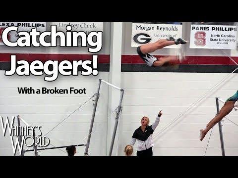 Whitney Bjerken Catching
