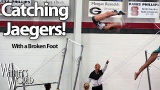 Whitney Bjerken Catching Jaegers with a Broken Foot