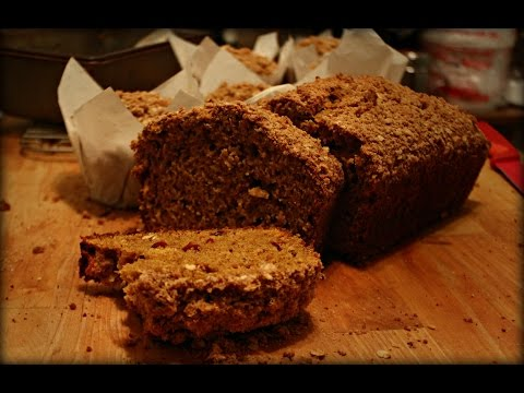 Pumpkin Cranberry Oat Muffins/Bread with Streusel topping!