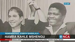 Mshengu's final send-off