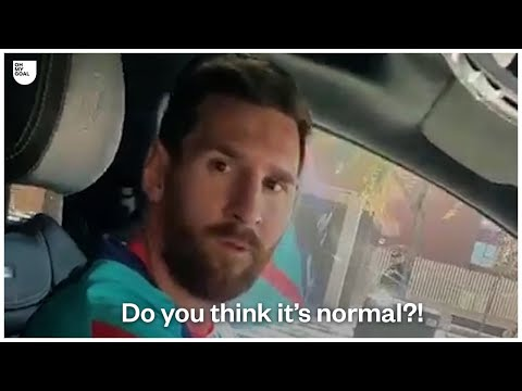 Leo Messi Loses His Temper With FC Barcelona Fans | Oh My Goal