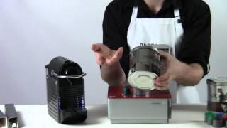 Nespresso Pixie vs Francis Francis Y1 single serve espresso machine