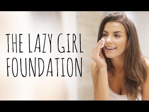 THE LAZY GIRL'S FOUNDATION TUTORIAL