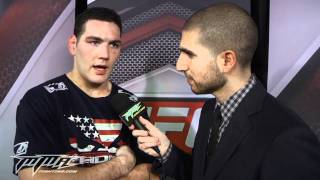 Chris Weidman Talks About His Win Over Demian Maia at UFC on FOX 2