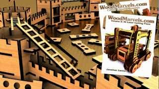 Medieval Castle Walls B: 3d Assembly Animation (1080hd)