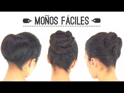 peinados fciles diferents ideas para realizar recogidos con moos youtube